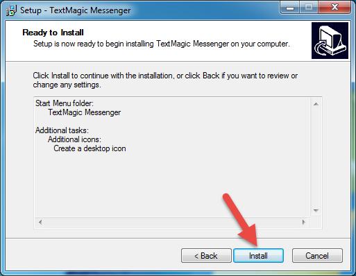 Install Messenger