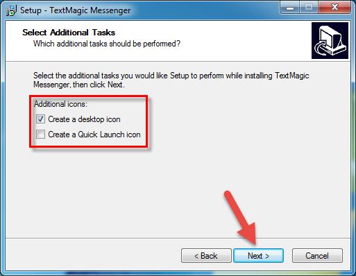 TextMagic desktop