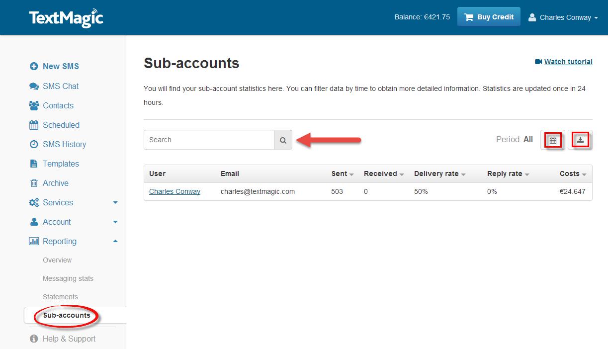 sub account